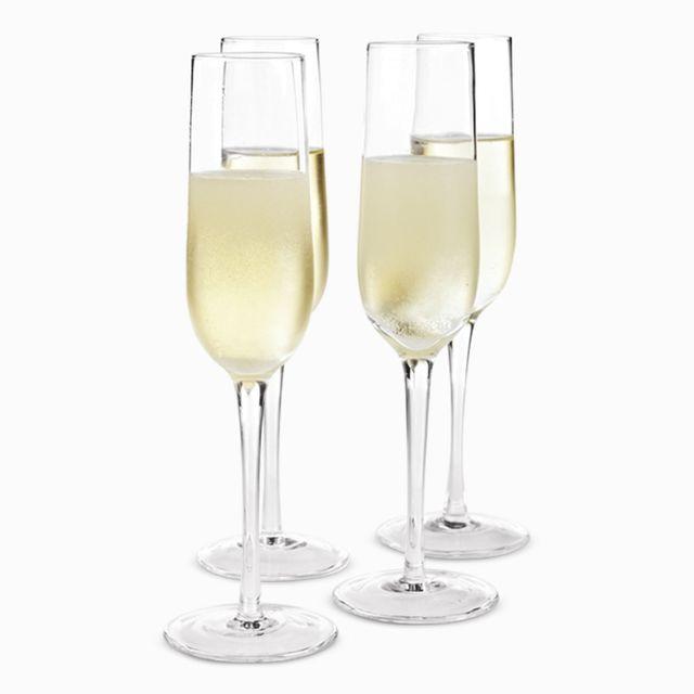 Copa champaña gala set x 4