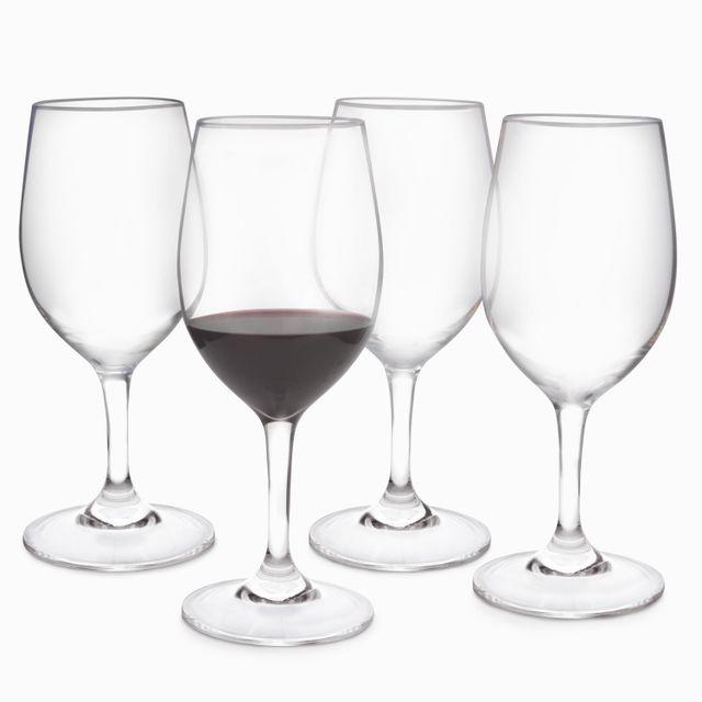 Copa vino tinto gala set x 4