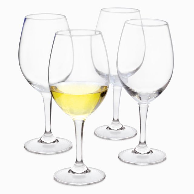 Copa vino blanco gala set x 4