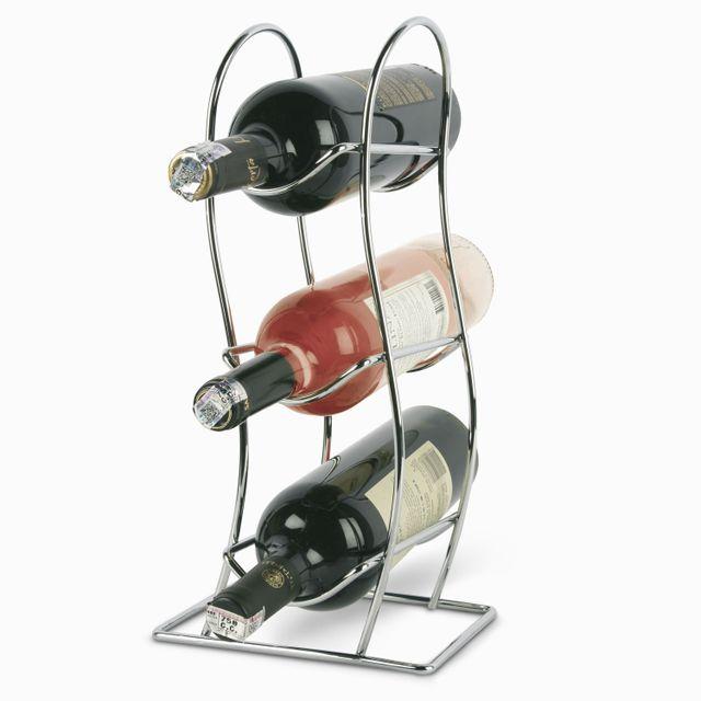 Soporte para 3 botellas de vino
