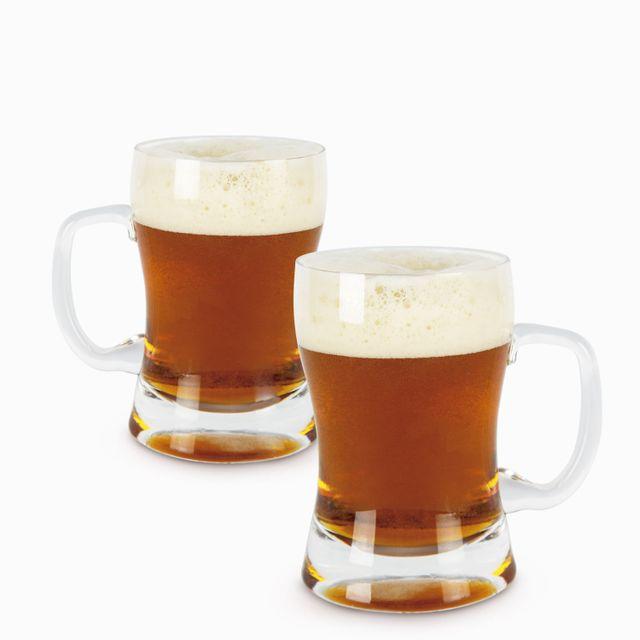 Vaso de cerveza 620ml setx2