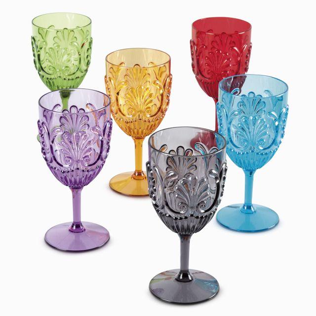 Set de copa de vino gravur