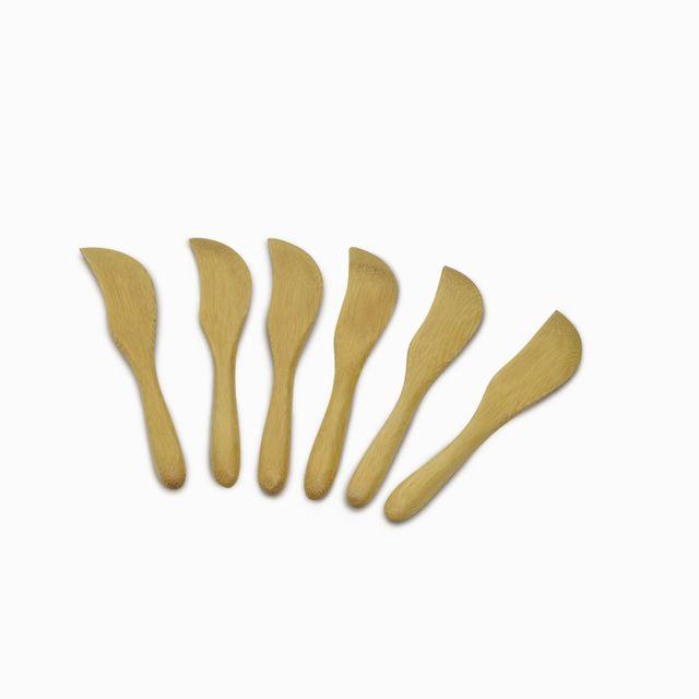 Set de cuchillos en bambú