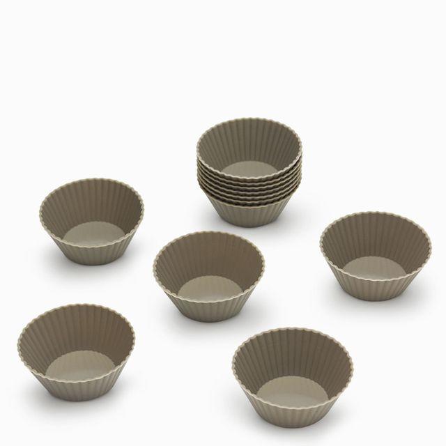 Set muffins x 12 gris