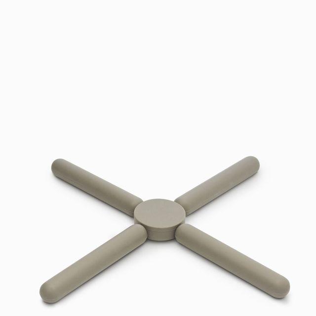 Portacalientes ajustable gris