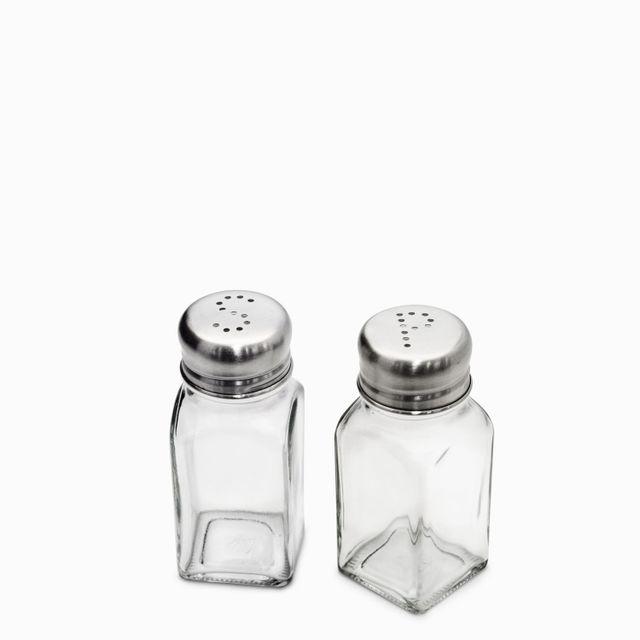 Set de sal y pimiento cubo