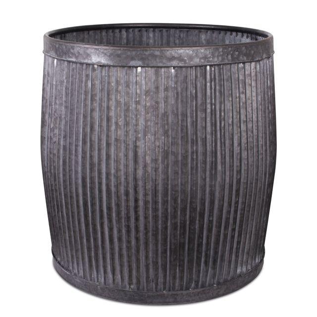 Caneca circular alto metal 54x51.5x51.5