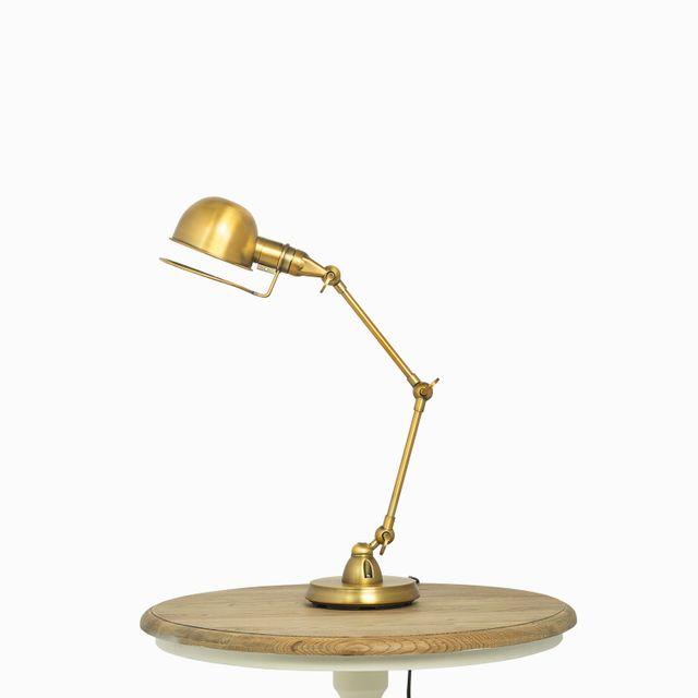 Luminaria mesa brass