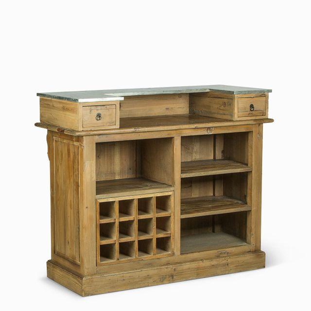 Bar en madera 120x50x100cm