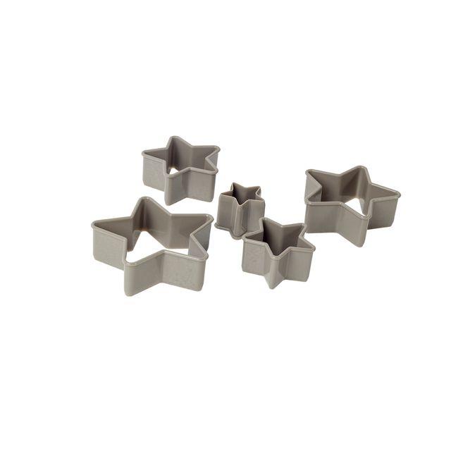 Set cortador de galletas estrella