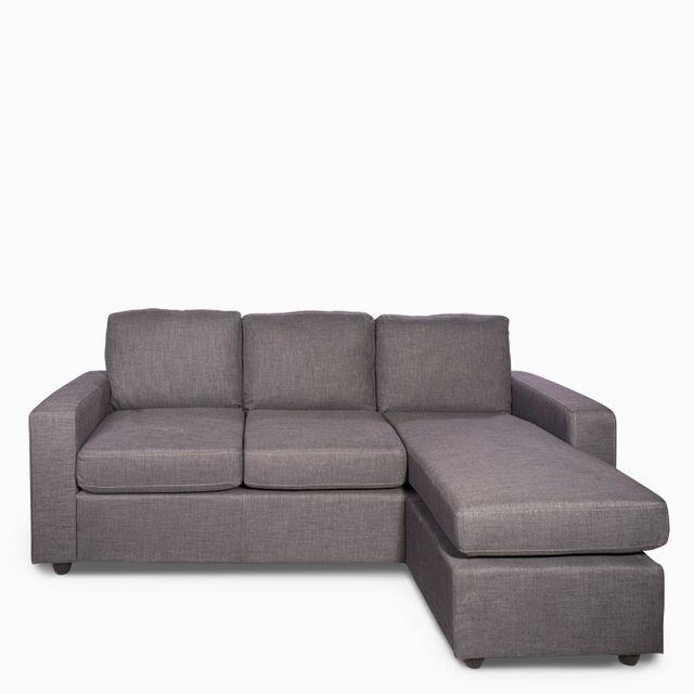 Sofa En L Urban Gris Oscuro  200