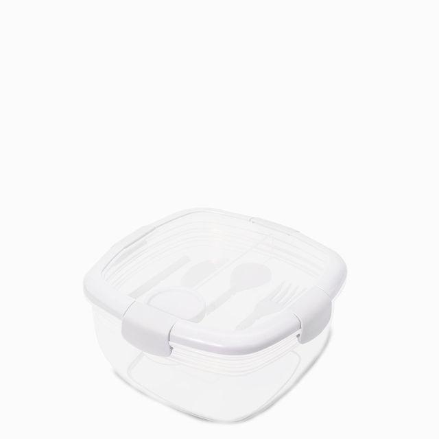 Lonchera hermetica blanco 1840 ml