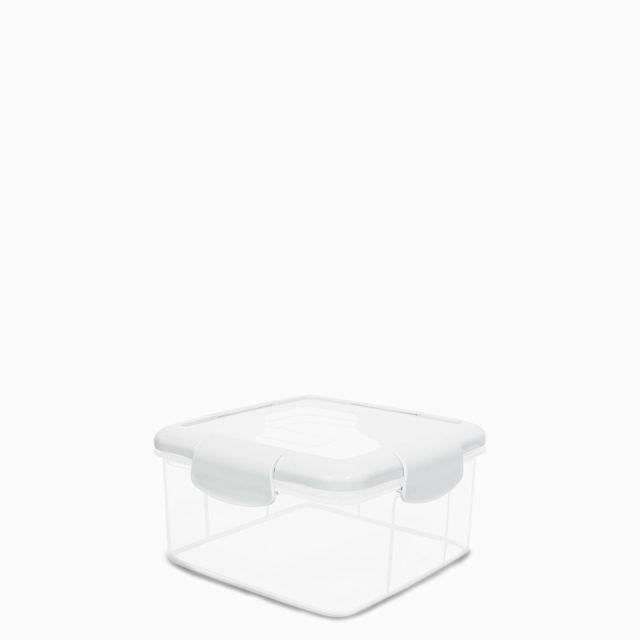 Recipiente hermetico blanco 1150 ml
