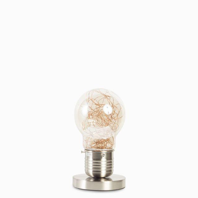Luminaria de mesa luciernaga silver 3w