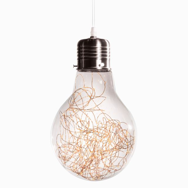 Luminaria luciernaga silver