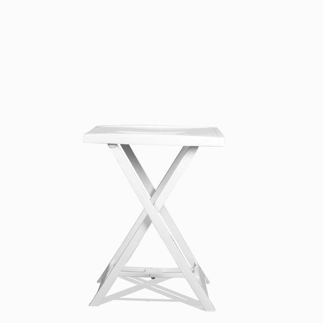 Mesa auxiliar arnobi blanca 65x50x47