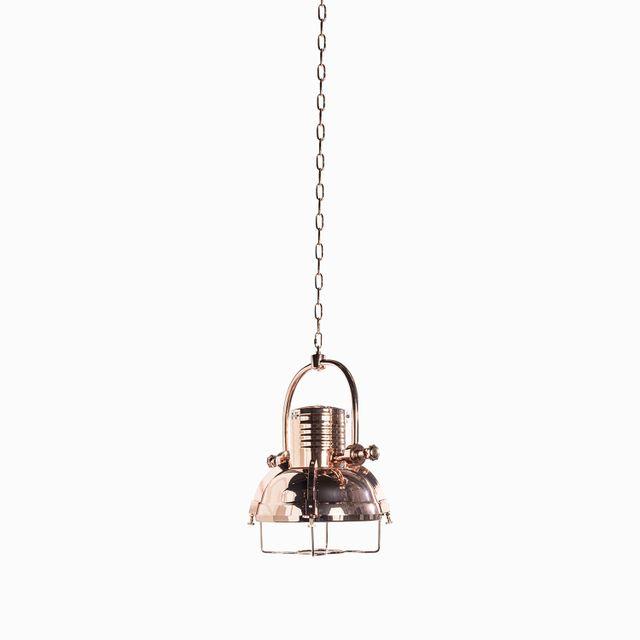 Lámpara rotati copper