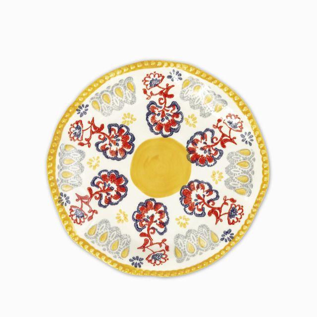 Plato mediano provenzal amarillo 20 cm