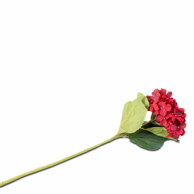 Hortensia roja  81 cm