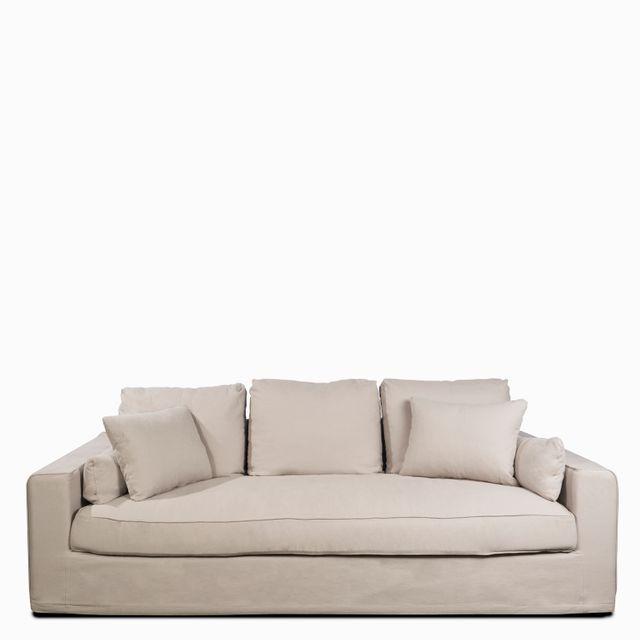 Sofa brume 3 ptos gris claro