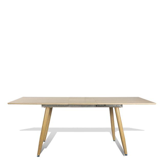 Mesa comedor extension madera 77x200x90