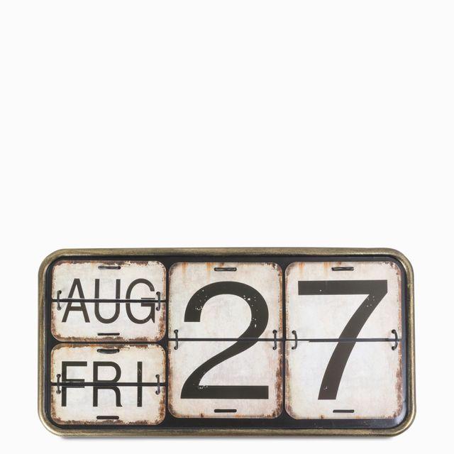 Calendario 40x20x2.5cm