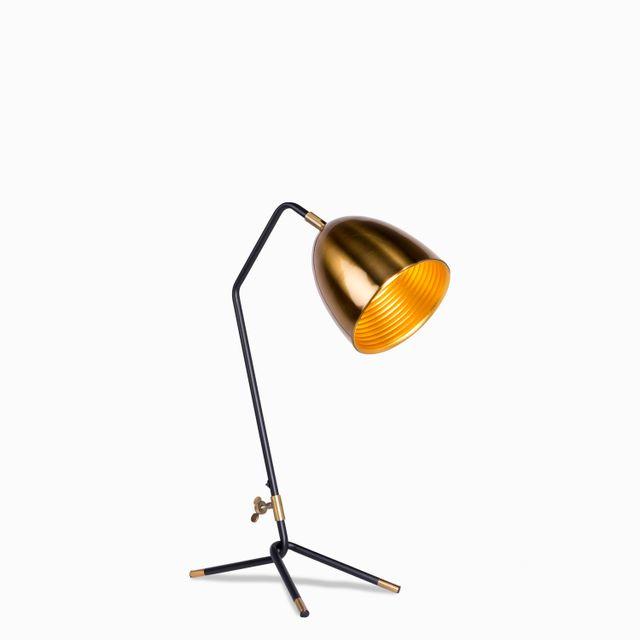 Luminaria mesa tripo brass