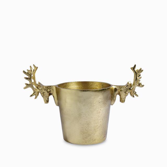 Hielera renos dorados 32x15x21cm