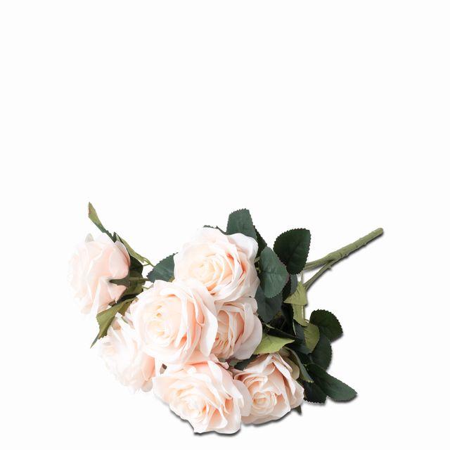 Bouquet de rosas rosadas x 10