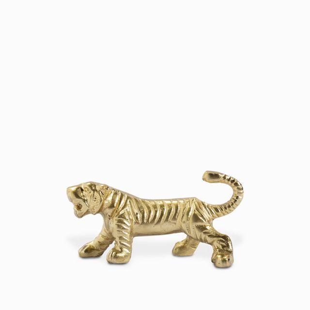 Gancho tigre dorado 11.5x5.5cm