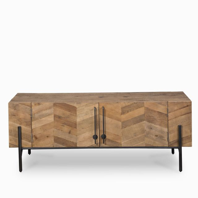 Muebles tv patas negras 62x160x45cm