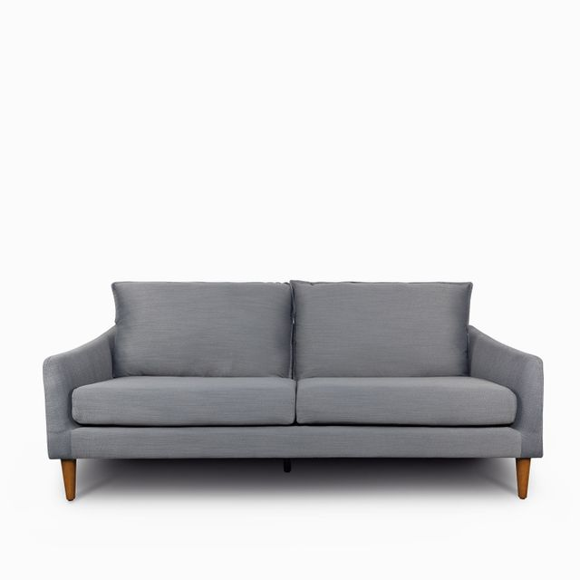 Sofa stone 3 ptos grisazul osc 86x196x85