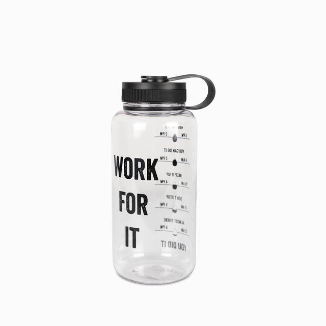 Termo con medidor de agua work 1200 ml