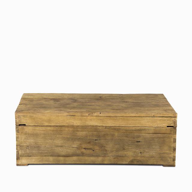 Mesa centro madera 125X80X41