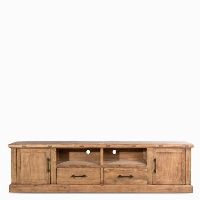 Mueble manija hierro 264x45x70cm