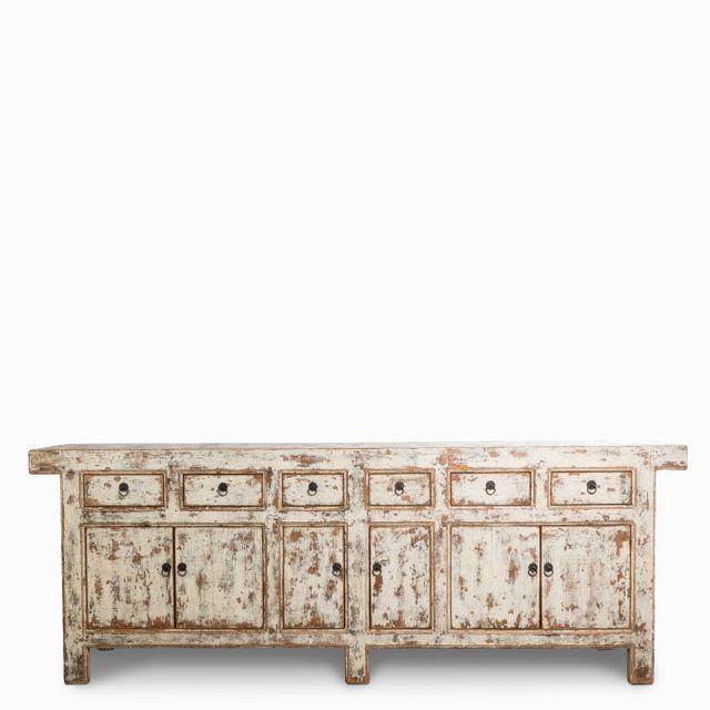 Mueble desgaste blanco 96x264x50