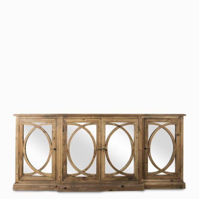 Mueble bajo espejos 207x51x90cm