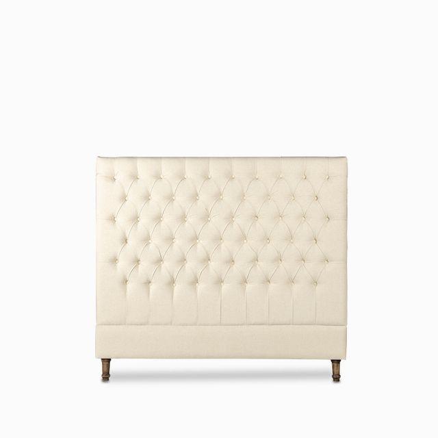 Espaldar chester queen 145x163cm beige