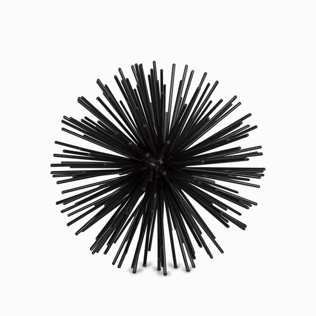 Bola espin negra gde 17.8 cm