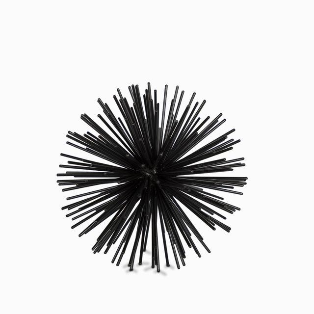 Bola espin negra peq 16.5 cm