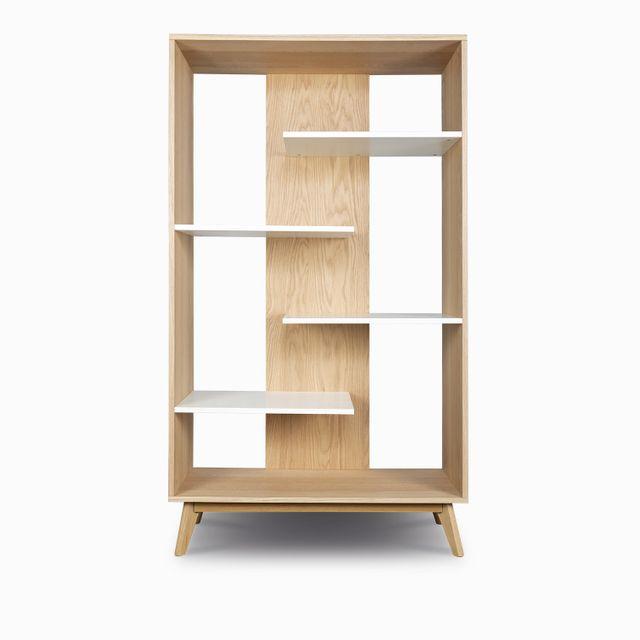 Estanteria massaro maderablanc180x100x40