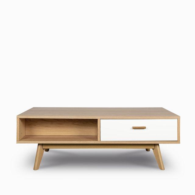 Consola tv massaro madera blanc40x120x60