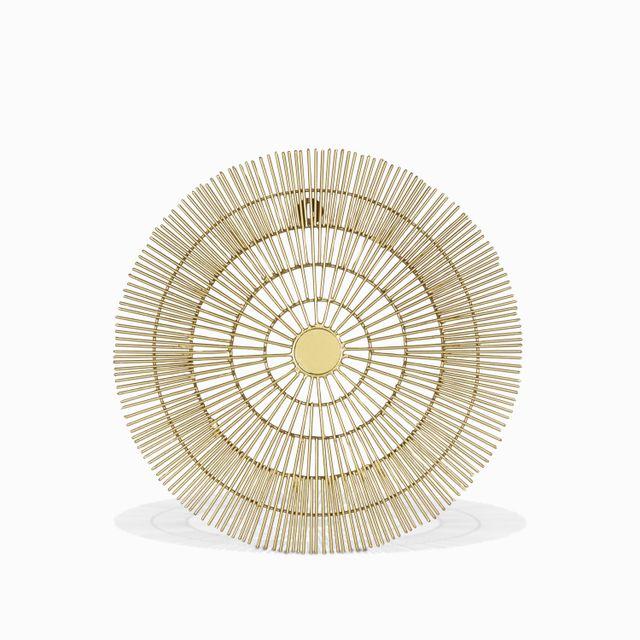 Centro de mesa soleil dorado 40.5x4.5cm