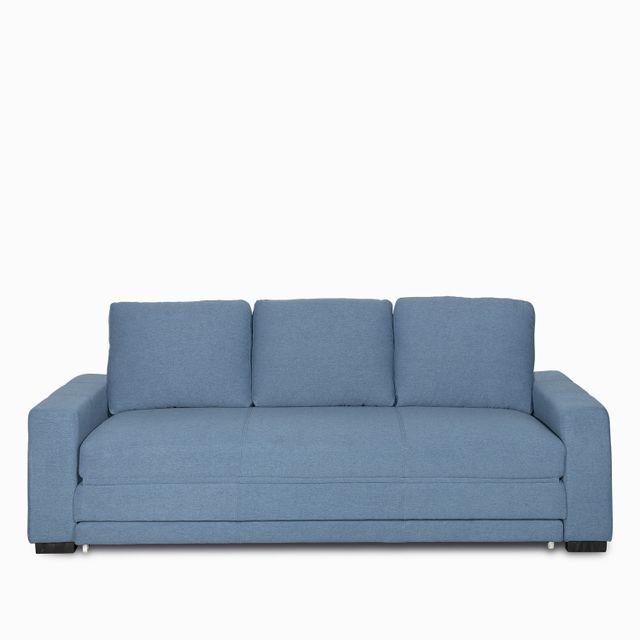 Sofacama base taylor azul 89x218x88