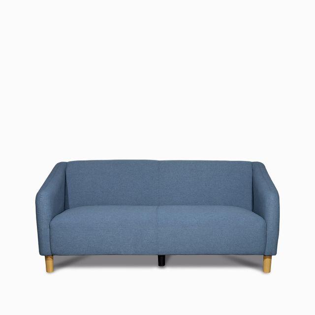 Sofa moon 3 ptos azul 81x184x79