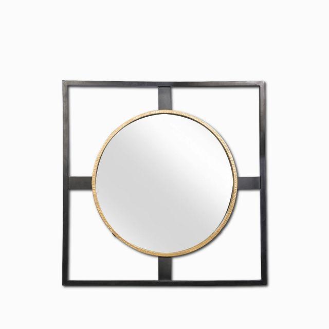Espejo marco circulo 127x127
