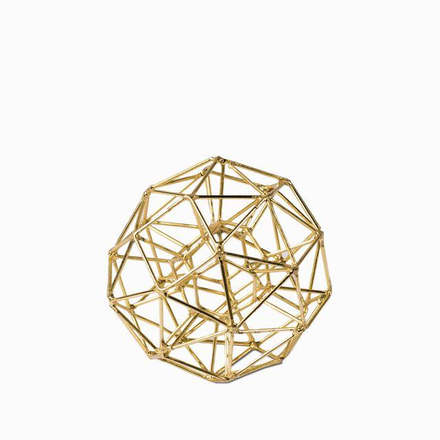 Poligono dorado 10.8x10.8