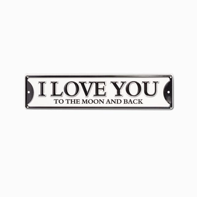 Aviso i love you 40x10
