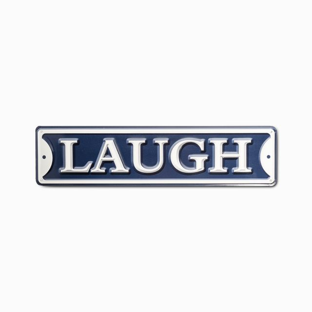 Aviso laugh 40x10