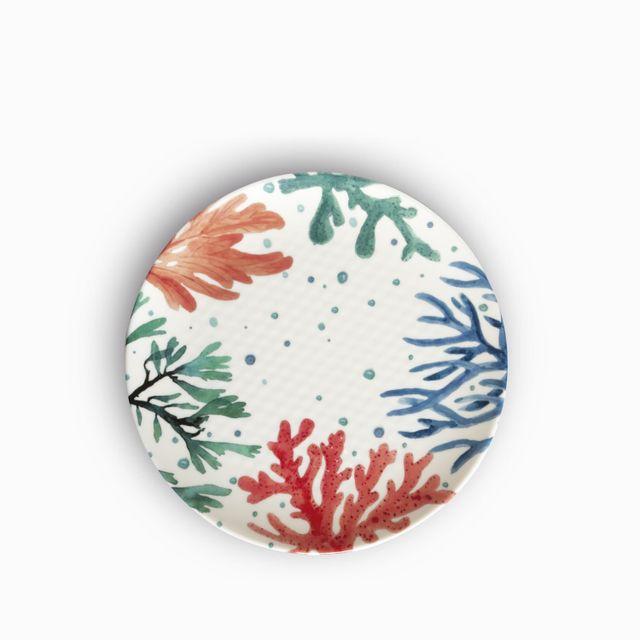 Plato principal corales 26 cm